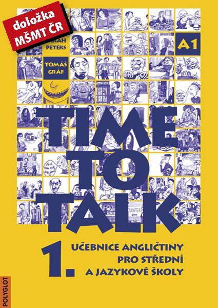 Time to Talk 1 – kniha pro studenty_MŚMT