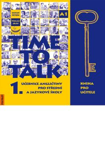 Time to Talk 1 – kniha pro ucitele