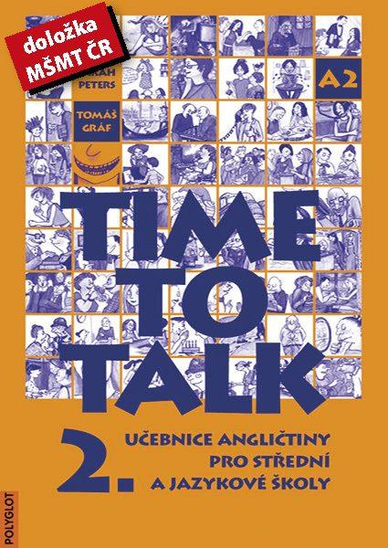 Time to Talk 2 – kniha pro studenty_MŚMT
